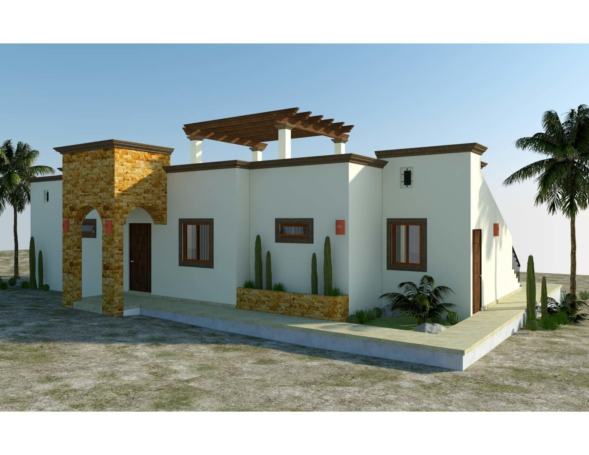 Casa Tesoro is one of 6 models to be built in the new, master-planned community of Villas del Centenario, Casa Tesoro is a 2BR/2BA home with 130m2/1,400ft2 of interior living area and a large 60m2/650ft2 wrap-around terrace. The soaring stone front entry welcomes visitors into an open living/kitchen/dining area featuring 10' ceilings and sliding glass doors that open onto the covered terrace. Custom-built hardwood cabinetry, oversized tile, granite countertops and stainless appliances are all included. The master suite features dual vanities in the bath, marble tiled shower and walk-in closets, with doors that open onto the patio. Other features include a laundry room and A/C units and ceiling fans in every room. Optional upgrades include a pool, spa, garage or garage/casita. The listing price includes the base home price plus a lot premium of $39,900. Lot premiums range from $39,900 - $79,900, so the final price of the home will vary based on the low selected. Also, some lots may require additional cost for retaining walls. The base price of the home includes all interior and exterior covered areas but extra terrace area is an upgrade. price does not include other options or upgrades.  Villas del Centenario is a private, gated community of homes located in the hills of El Centenario overlooking the Sea of Cortez with stunning ocean views. Now taking lot reservations with 50% deposit towards the lot premium.  The first homes to be built are expected to break ground in Fall 2021 (Phase I and II only), with completion averaging 9 months later. Please consult the listing agency for the full lot price list.