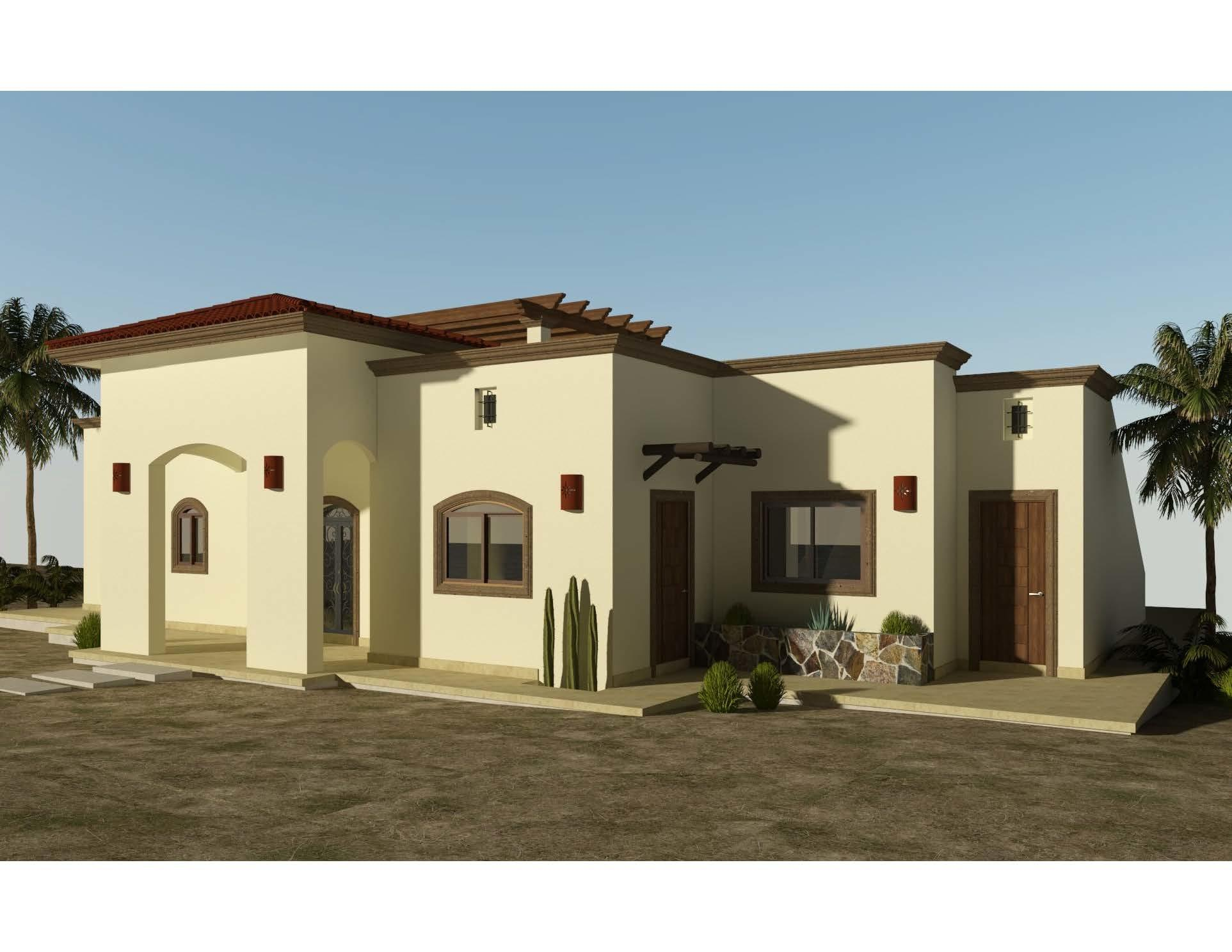 Casa Mogote is the largest of 6 models to be built in the new, master-planned community of Villas del Centenario, Casa Mogote is a 3BR/2.5BA home with 200m2/2,153ft2 of interior living space opening onto a huge 85m2/915ft2 covered entertaining area with tiled roof. The massive stone front entry welcomes visitors into an open living/kitchen/dining area featuring 10' ceilings, a large built-in pantry, and dual sliding glass doors that open onto the patio. Custom-built hardwood cabinetry, oversized tile, granite countertops and stainless appliances are included. The master suite has dual vanities in the bath, marble tiled shower and walk-in closet. The house also includes 2 guest BRs, a guest bath, a large laundry, and A/C units and ceiling fans in every room. The listing price includes the base home price plus a lot premium of $39,900. Lot premiums range from $39,900 - $79,900, so the final price of the home will vary based on the low selected. Also, some lots may require additional cost for retaining walls. The base price of the home includes all interior and exterior covered areas but extra terrace area is an upgrade. price does not include other options or upgrades.  Villas del Centenario is a private, gated community of homes located in the hills of El Centenario overlooking the Sea of Cortez with stunning ocean views. Now taking lot reservations with 50% deposit towards the lot premium.  The first homes to be built are expected to break ground in Fall 2021 (Phase I and II only), with completion averaging 9 months later. Please consult the listing agency for the full lot price list.