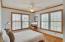 One of 4 second floor bedrooms