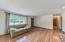 Gorgeous original hard wood floors throughout living room and bedrooms.