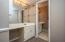 Vanity area also has a newer vanity and sink & counter. Huge walk in closet.