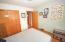 Double Closet & overhead light,
