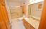 Granite Counters, upgraded plumbing & light & light fixtures including commode