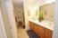 Double Vanity & Ceramic Tile Flooring