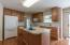 Fully Applianced Kitchen with Gas Range