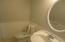 half bath eith lamainate flooring