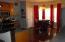 Kitchen dinning space