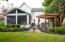 Rear patio with pergola and hot tub