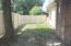 Fenced-In Side Yard