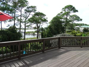 Back Deck with view of Lake