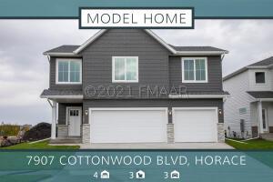 7907 COTTONWOOD Boulevard, Horace, ND 58047