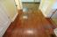 Beautiful real hardwood floors throughout primary living areas.