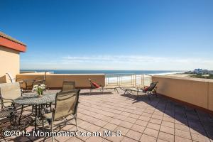 Sweeping Ocean Views from your upper level terrace