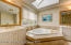 Master bath with his and her sinks