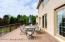 Maintenance free azek deck with direct access from either the kitchen and/or living room