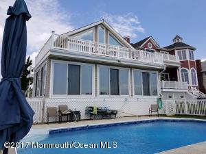 Enjoy waterfront breezes, summer fun, boating and inground pool.