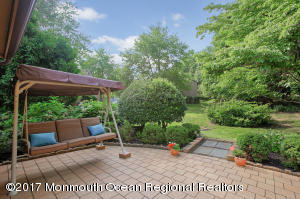 This special tiled Patio is the perfect setting for a family barbeque reunion.