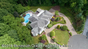 """Located in a """"Double Cul-de Sac"""", Full Paver Circular Driveway, Magnificent View of Holmdel Park"""