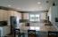 New granite, backsplash, and appliances