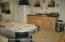 Kitchenette in basement