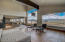 Views from living & dining areas, kitchen