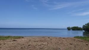 Gentle Slope, Gumbalimbo, 0.34 Acres with 39 Ft. Beach, Roatan,