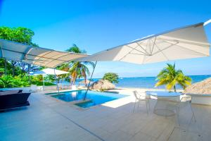 Adjacent Beachfront Lot #6, Luxury Beachfront Home &, Roatan,
