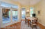Intimate Eat-In Kitchen With Breakfast Porch