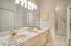 Adjoining Guest Jack & Jill Bathroom
