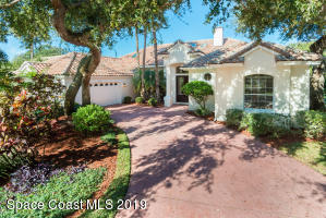 Property for sale at 345 Hammock Shore Drive, Melbourne Beach,  Florida 32951