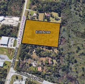 Property for sale at 6740 Unknown Street, Palm Bay,  Florida 32909