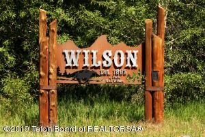 1225 N 2ND STREET, Wilson, WY 83014