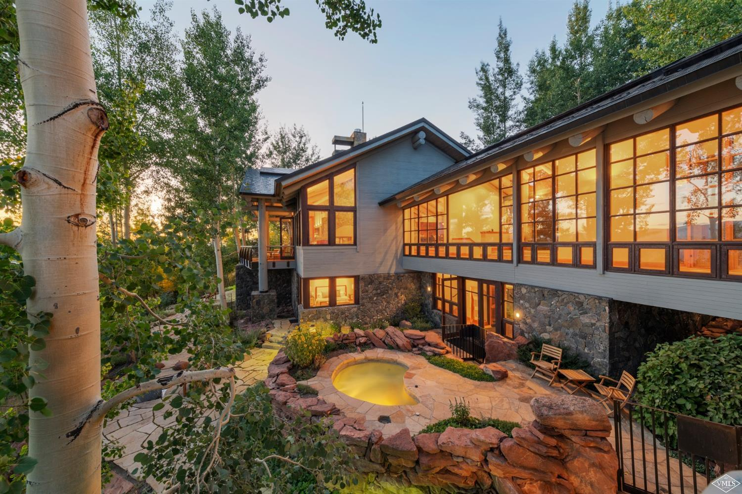 126 Goldenrod re-imagined. This estate home has a new, elegant look with a mountain modern design. You will love the stunning 270-degree views of Vail, Beaver Creek, Bachelor Gulch as well as the Sawatch Mountain Range. Bonus! Sellers are including their Beaver Creek Village Parking Space and Ski Locker in the sale. mls.126Goldenrod.com; Over 3 Car Garage