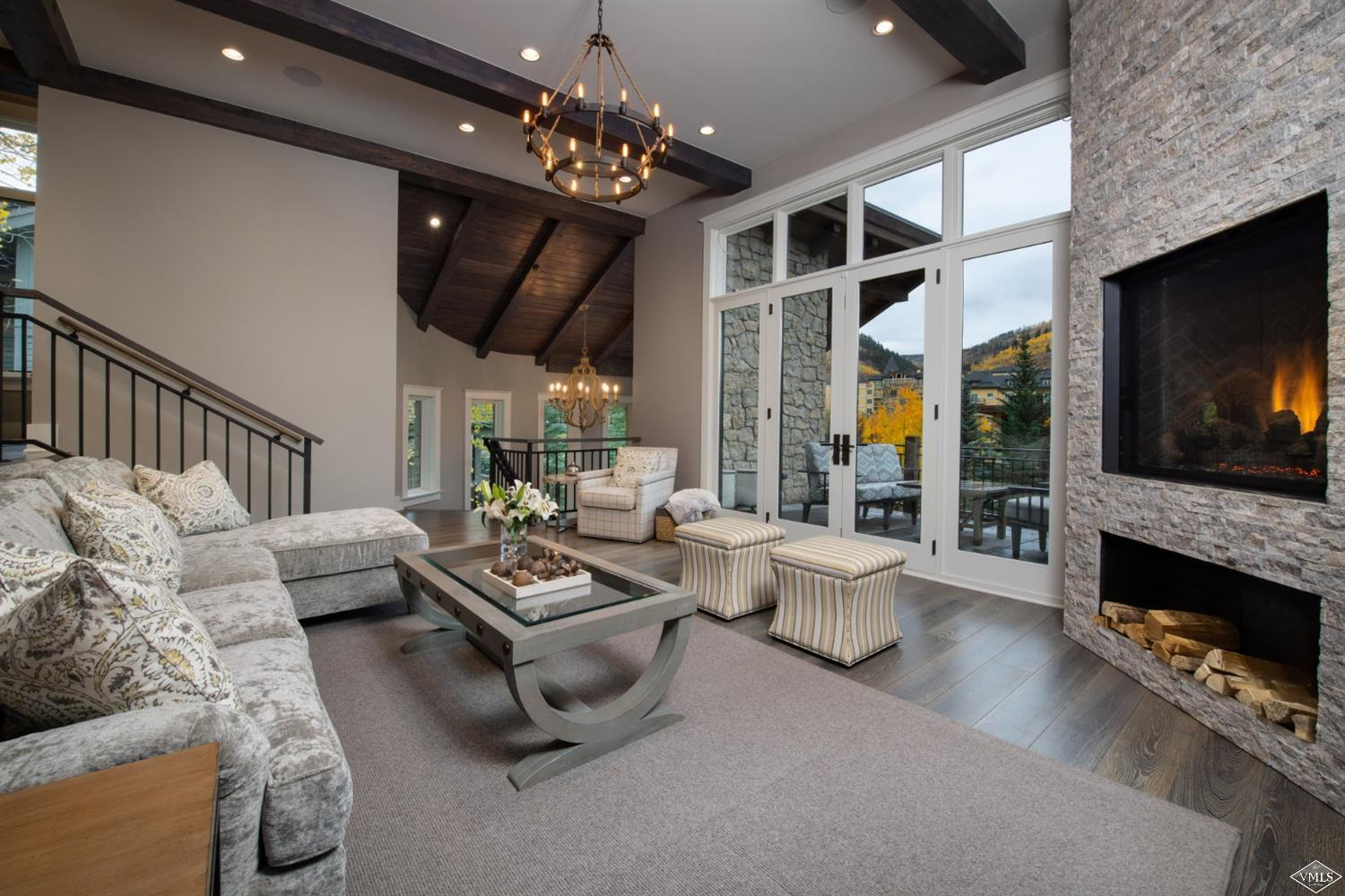 The ultimate in new Vail construction, stately 716 Forest Road exudes elegance with top of the line modern finishes and features at one of Vail's most prestigious addresses. Beautiful aspen grove views from a grand 6-bedroom, 6.5-bath plus den residence. It truly is an awe-inspiring home that is ideal for entertaining and impressing with 5,163+/- sq.ft. State of the art technology. Now with full Arrabelle membership included!