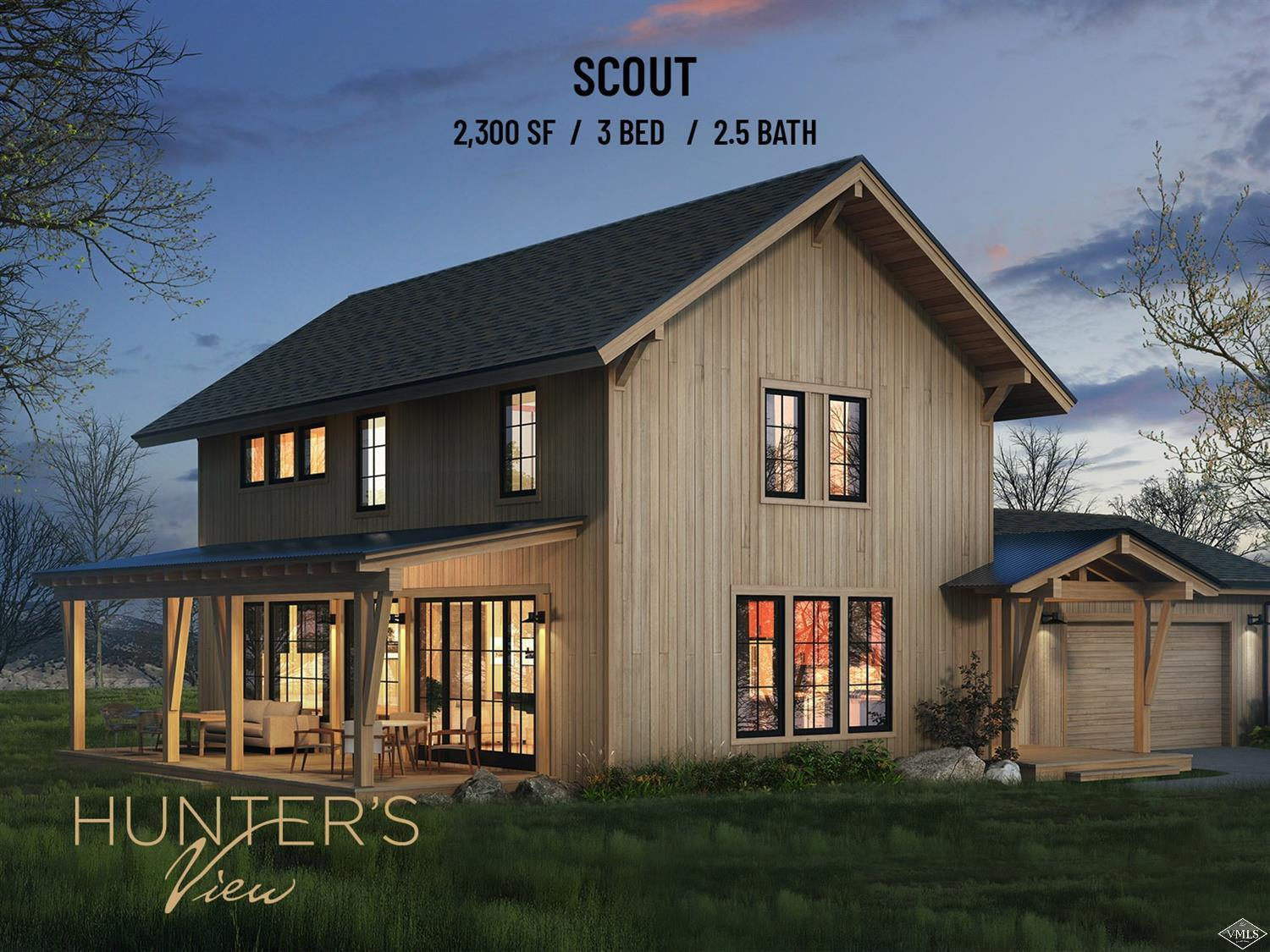 Starting Spring of 2020 - Scout Model -Hunter's View Residences - Nestled on 81 acres, surrounded by pristine wilderness, Hunter's View is Frost Creek's newest real estate offering. Phase 1 (15 homes out of 44) are thoughtfully designed new construction homes, which is a perfect combination of personalization and convenience. With 3 unique layouts and numerous additions to choose from, no 2 residences will be exactly the same.