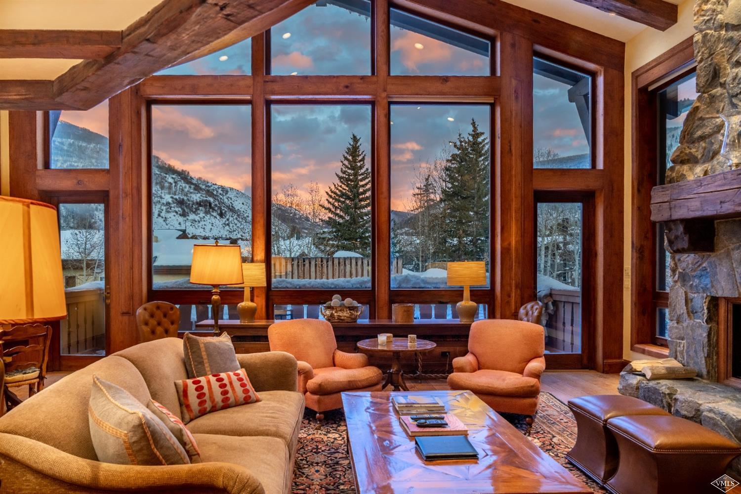 A rare opportunity to own one of the most unique units in the Lodge at Vail! This beautiful, oversize 3 bedroom offers a spacious living area and media room. Enjoy huge views from one of the best decks in building. Just steps to the slopes, restaurants, and shopping! The Lodge at Vail offers luxury amenities including spa/fitness center, outdoor pool and hot tubs, front desk & concierge services, bell services, and many more. This unit also comes with a Vail Mountain Club social membership.