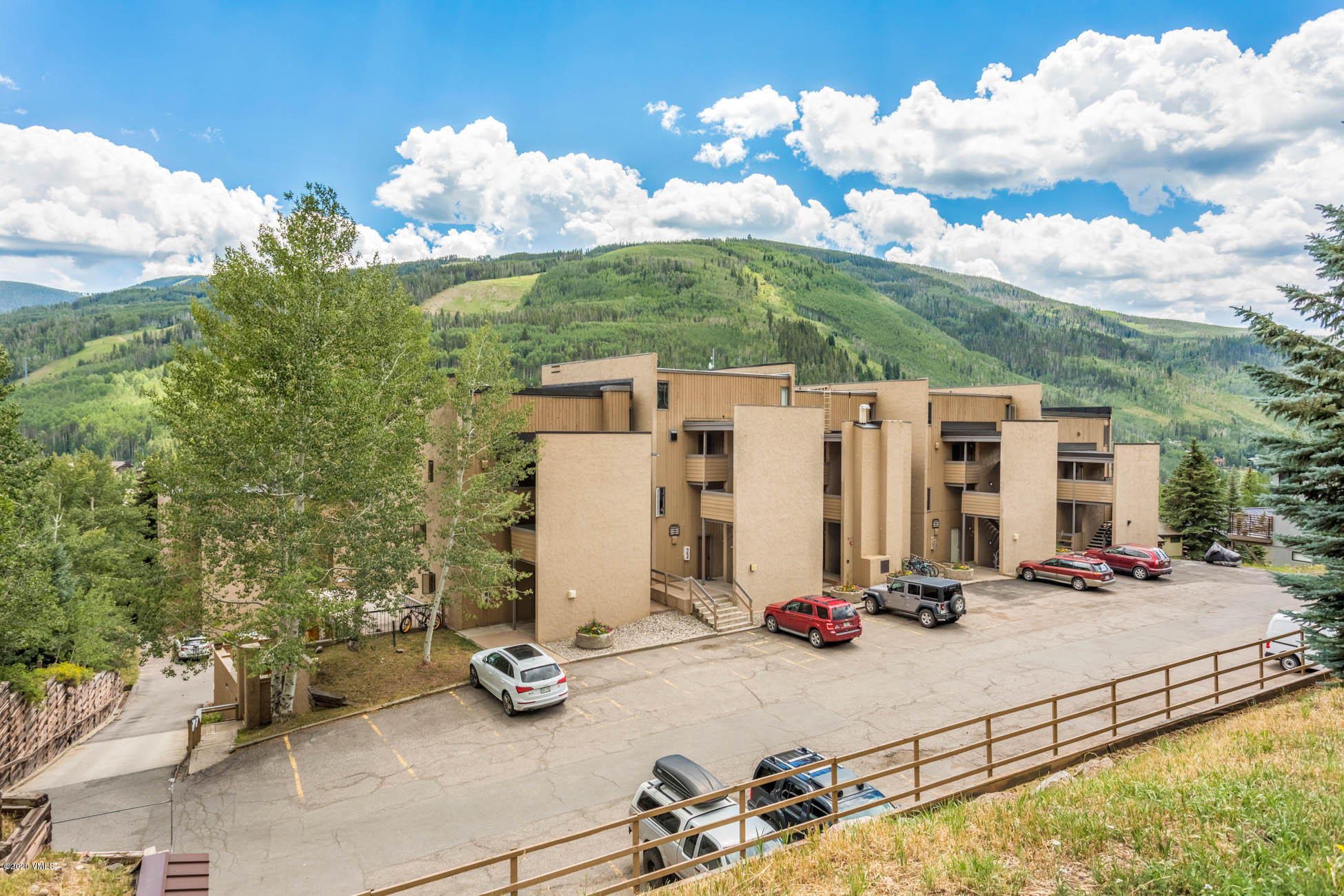 This is your opportunity to live and own in Vail!  Fantastic location in Sandstone, steps to the bus stop, minutes to Vail Village and Lionshead, and incredible hiking and biking trails just out your back door.  This one bedroom condominium has 2 story windows that capture sneaky good views of Simba Run on Vail Mountain, sunny and south facing, updated kitchen and living room flooring, and a wood burning fireplace.  Enjoy your morning coffee on the deck and make this your perfect weekenders getaway or let this be the place you call home.  Welcome!