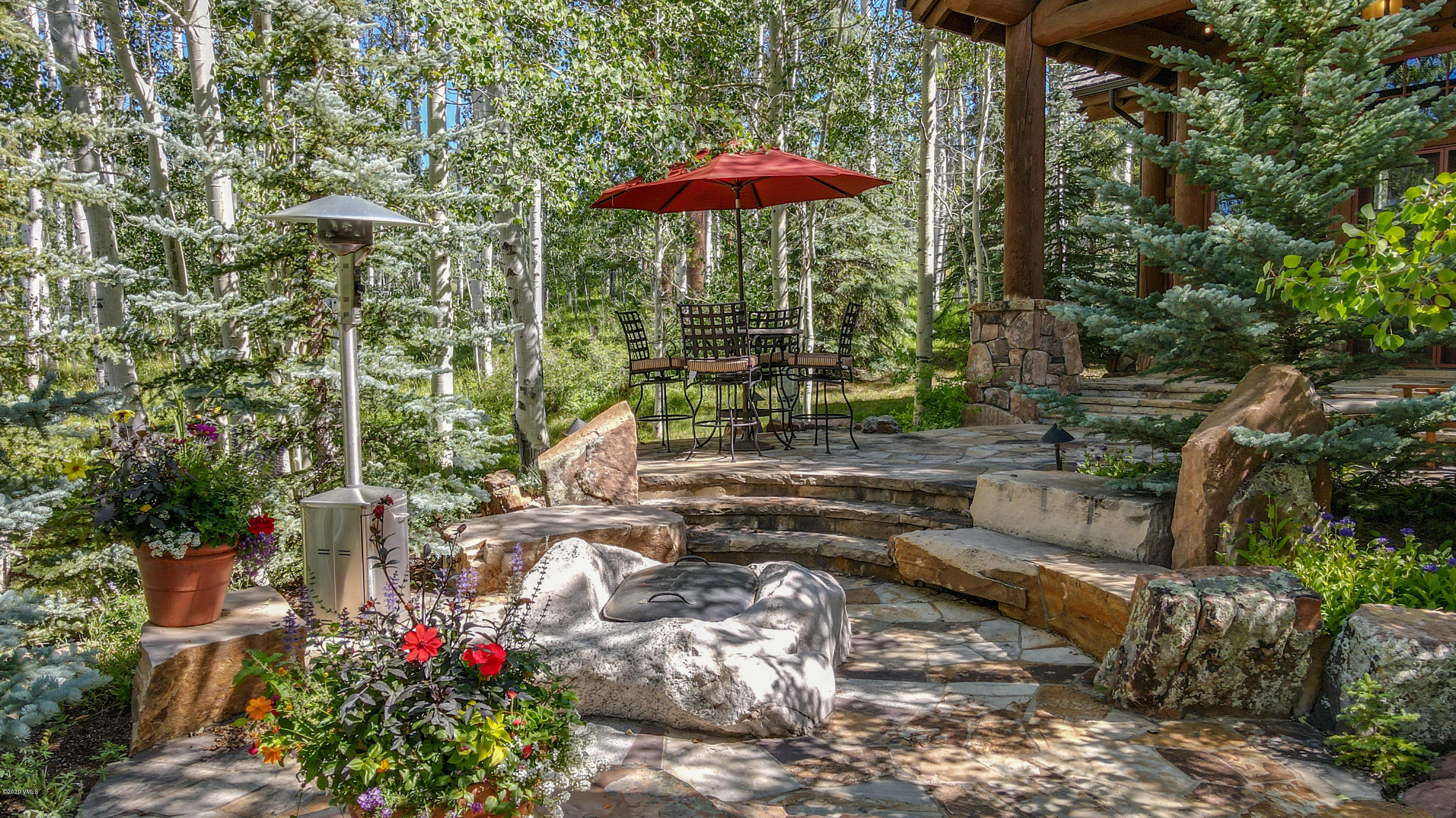 A rare, once in a generation opportunity to own a secluded luxury estate situated on top of the world only minutes to Vail and Beaver Creek, Colorado. Live the resort lifestyle with your own private parking space and ski locker right at the base of Beaver Creek. An air of grandeur pervades the over 10,000-square-foot alpine retreat, with every space warm and welcoming.  Inspired by travel, art and nature and designed by celebrated architect Paul Miller, this home features rich and sophisticated tones, exceptional quality of construction, generous scale and warm and inviting interiors that will satisfy the most discerning of tastes.  After entering the private gate, revel in the tranquility and serenity as you climb within Mountain Star to an elevated setting through the lush landscape and aspen groves and arrive at the residence.  Welcome to 208 Shooting Star.  Some of the many exceptional features of this this property include colossal views of the surrounding mountain peaks, magnificent entertaining areas, sophisticated wine room, 8 hallmark fireplaces all hidden in a flourishing aspen forest and greenery of the landscape with 2 enchanting water features. .................... Enveloping the residence are an abundance of wonderful outdoor living spaces, each of which has been thoughtfully positioned for the ultimate enjoyment of the views and soothing surroundings.  Breath in the fresh air, stroll through the soft rolling topography and simply take it all in.  Privacy and enchantment await.  Spend a week or spend a lifetime, you will not be disappointed. ''We watch foxes, pine martins, squirrels, deer, elk, birds especially hummingbirds.   We see all of this wildlife right out our windows.''-Homeowner