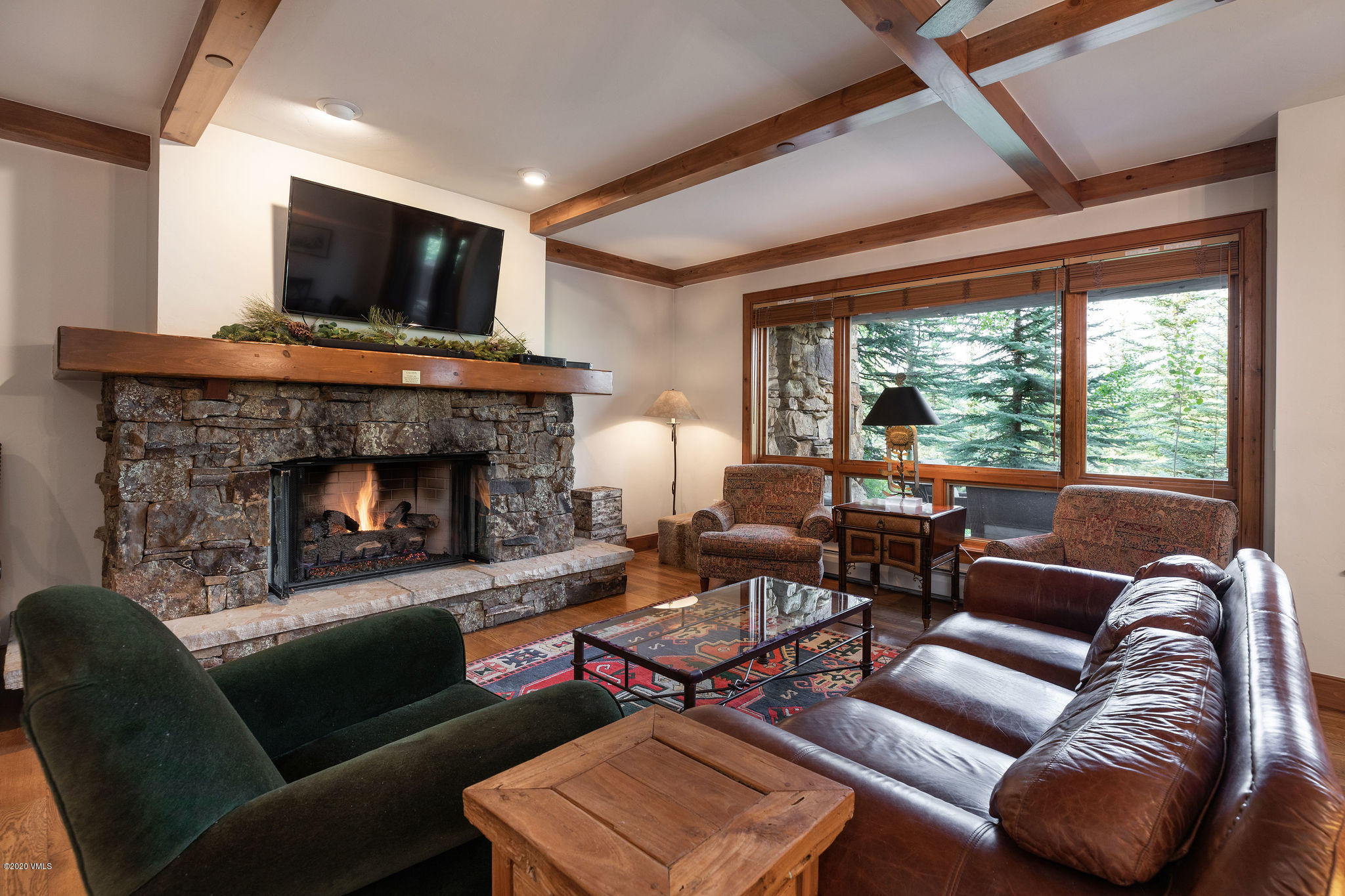 Opportunity to own in the popular Bear Paw Lodge in exclusive Bachelor Gulch Village. Easy and perfect ski-in/ski-out access located, literally, right on the ski mountain. Comfortable single-level ground floor residence with open floorplan for entertaining. Combined great room, dining room, and large kitchen. Great room features a gas fireplace with stone surround and direct access to the adjacent extended patio. Master bedroom located separately from secondary bedrooms with ample closet space and direct access to outdoors. Property situated in a private location facing northeast. Charming design. Great on-site management and amenities with a front desk, year-round pool, three hot tubs and underground parking. Sold furnished.