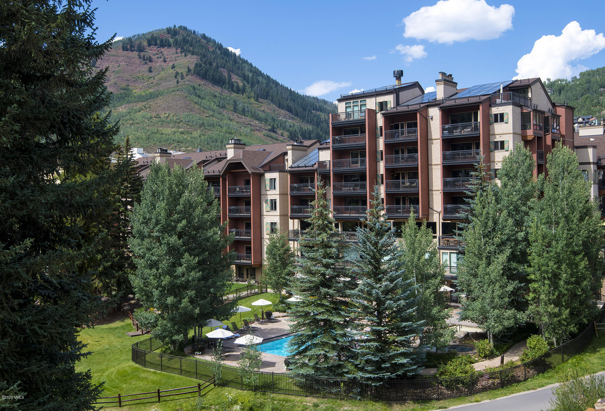 Ski-In and Ski-Out...from this convenient location in the heart of Lionshead!  Beautifully remodeled offering a spacious floor plan.The roomy great room and dining area open to the outside deck! Walk out your door to ski slopes.Views of the ski slopes and adjacent to the Eagle-Bahn. Amenities include an outdoor pool and hot tubs overlooking  Gore Creek. Plus, you can fish, walk or bike right out your door.  Steps away from shops and restaurants.Excellent management and rental income.  A must see!!