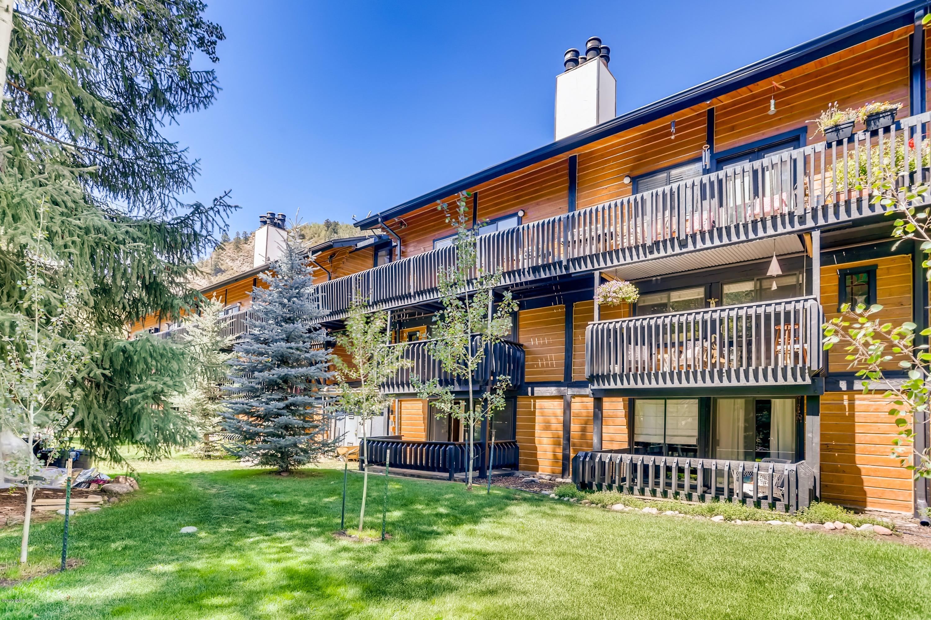 This recently remodeled 2 bed 2 bath 924 sqft condo in West Vail South is located in the serene area of Intermountain. Enjoy long summer days on one of two large decks and cold winter nights in front of the wood burning fireplace. This modern designed condo with scenic mountain views offers worry free living as association dues include heat, internet, cable, snow removal, water and sewer. An assigned carport will help eliminate the hassle of having to remove snow from your car in the winter. Don't want to drive? No problem. The free bus stop is just 50 feet away. New energy efficient windows will keep you warm in the winter and the sliding door in each of the two bedrooms will keep you cool in the summer. The in-unit washer and dryer enhance the convenience of this remodeled condo. A new kitchen and appliances will further enhance you living experience. With permitted short term rental, this condo also makes a great investment. Call today to schedule your private showing.