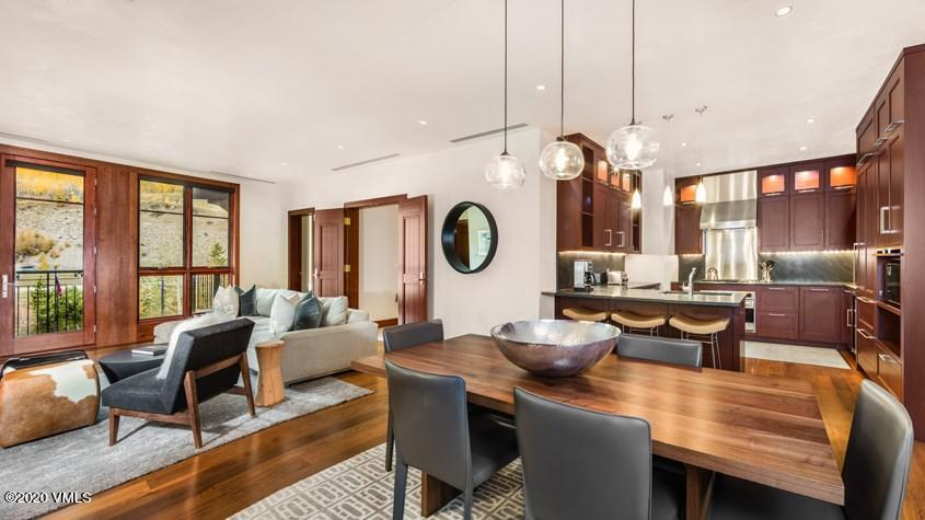 Fantastic 2BR + Den unit at Solaris! Unit boasts one of the larger dens in the 2BR + Den inventory, making it the perfect fit for your family & friends! Five Star Services and Amenities, Lockers at the Ski Lift, High End Quality Building with all the Technology at The Premier Residences In Vail!