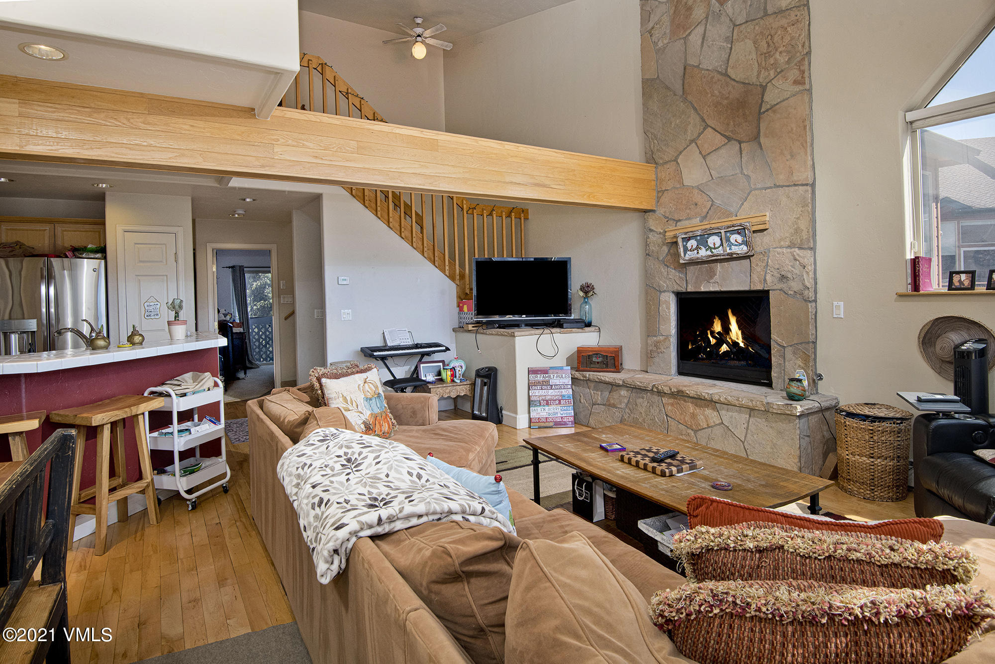A rare 4 bedroom, 4 bath home with a 2 car garage in lower homestead priced aggressively. Elk Meadow Townhomes have a lovely, lofted ceiling creating an open living room with built-in fireplace flowing to a spacious kitchen area. The main floor also offers a large deck overlooking the clubhouse and pool. This home also has a completely finished 1 bedroom lockoff with a separate exterior entrance and entrance from garage which creates numerous opportunities. The lock off was recently remodeled, however much of the kitchen and bathrooms upstairs are original, leaving opportunities for someone to make improvements over time that match their personal taste. There is room for 2 surface parking spaces as well as a 2-car garage and overflow parking offered in the complex. Appliances in home and lock off included and most furniture can be made available.