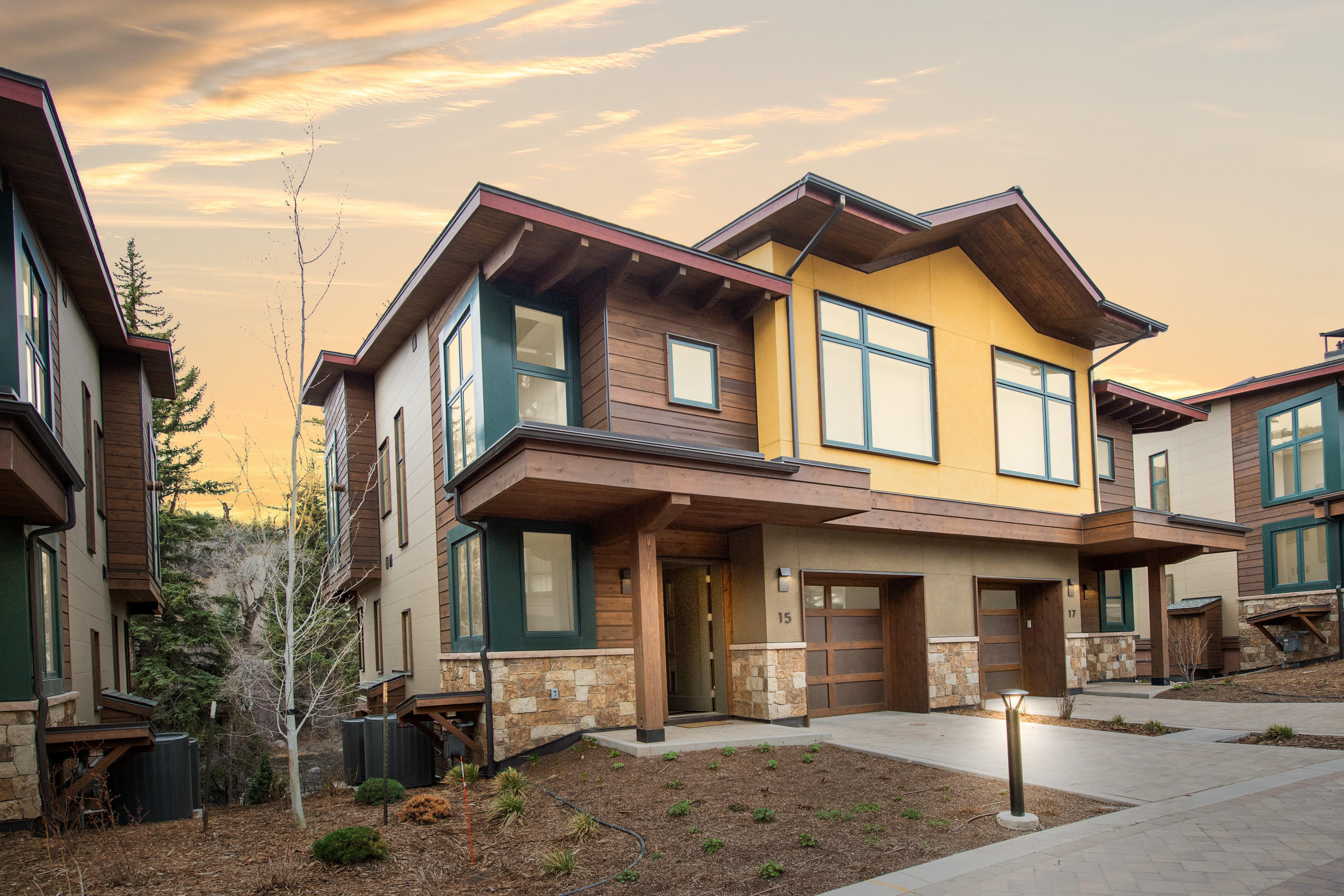 Step into the essence of mountain contemporary elegance in this 4-bedroom, 3-bathroom townhome.  Located in the sought after Riverfront Village, just steps to the bike path and a short walk to the Riverfront Gondola. Designed by Zehren Architects Riverfront Townhome #15 was constructed by East West Partners in 2018.  The residence features iconic Beaver Creek views and overlooks the Eagle River.  Spacious living, dining and kitchen areas, primary and secondary suites with South views.  Walls of windows throughout the home offer spectacular views and natural light.  Beautiful high end finishes feature hardwood flooring, Duralux counters, slab-style cabinets, Bosch appliances, electronic shades, master steam shower and lower level walk out patio.  As an owner, you will enjoy the amenities of the Westins world-class spa, athletic club, heated outdoor lap pool and infinity spa pools, ski valet and shuttle service.  In addition, you will have access to the private amenities at the Riverfront Lodge including an infinity spa pool, outdoor fire pit and family game room.  Live privately in the heart of the valley with all the access to skiing Vail and Beaver Creek Mountains in winter and Avon Lake, the Eagle River and the festivals, farmers markets in summer.