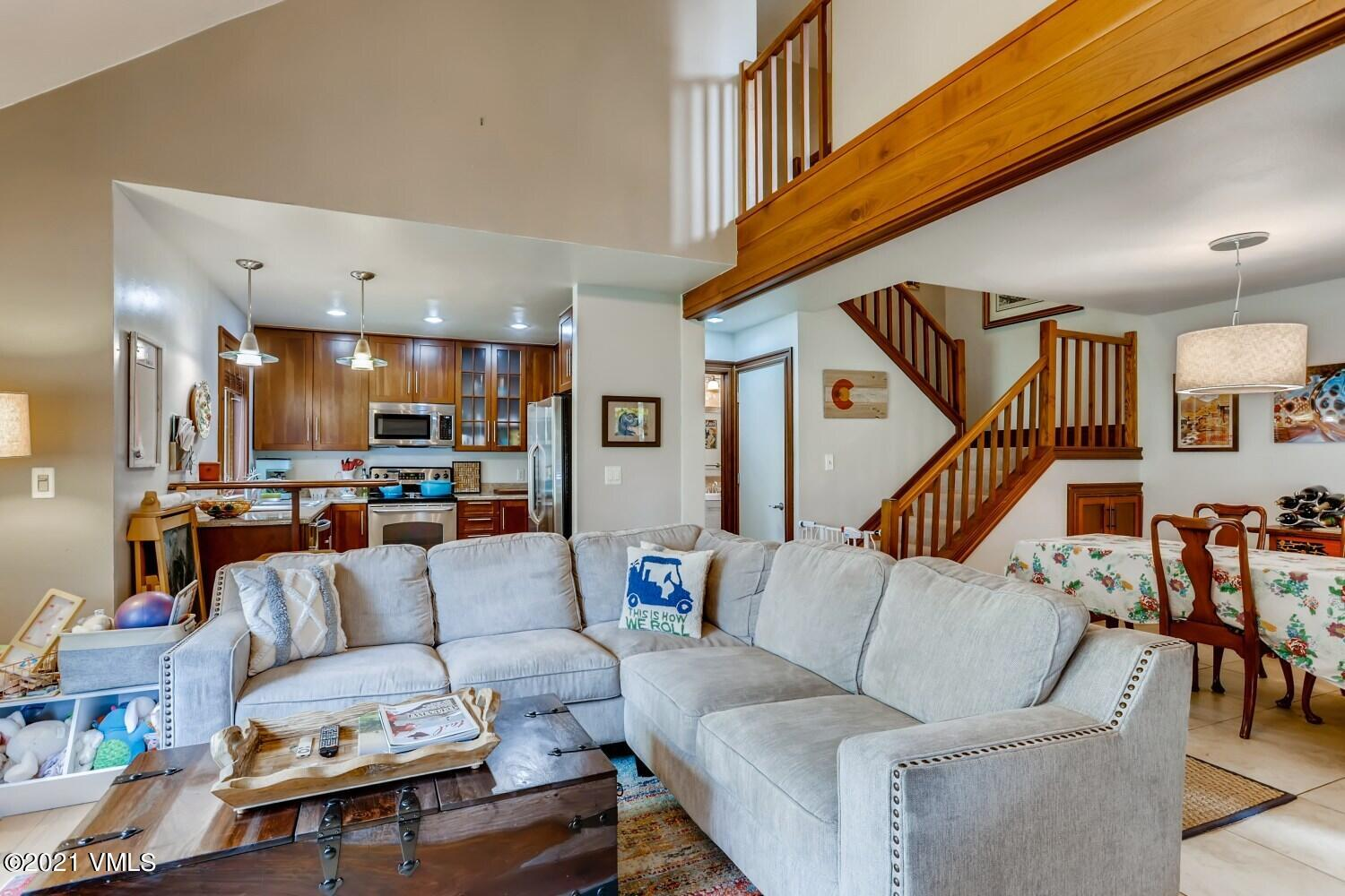 Charming 2-bedroom, 1.75-bath Homestead Meadows condo located right next to the creek. The interior features an upgraded wood-burning fireplace with blower and office/reading loft off of the primary bedroom. Conveniently located just up the road from the Homestead Court Club and minutes from all of the Edwards amenities and shopping. *UPDATE - Offers on this home will be accepted until 5/26/21 at 10am MDT.