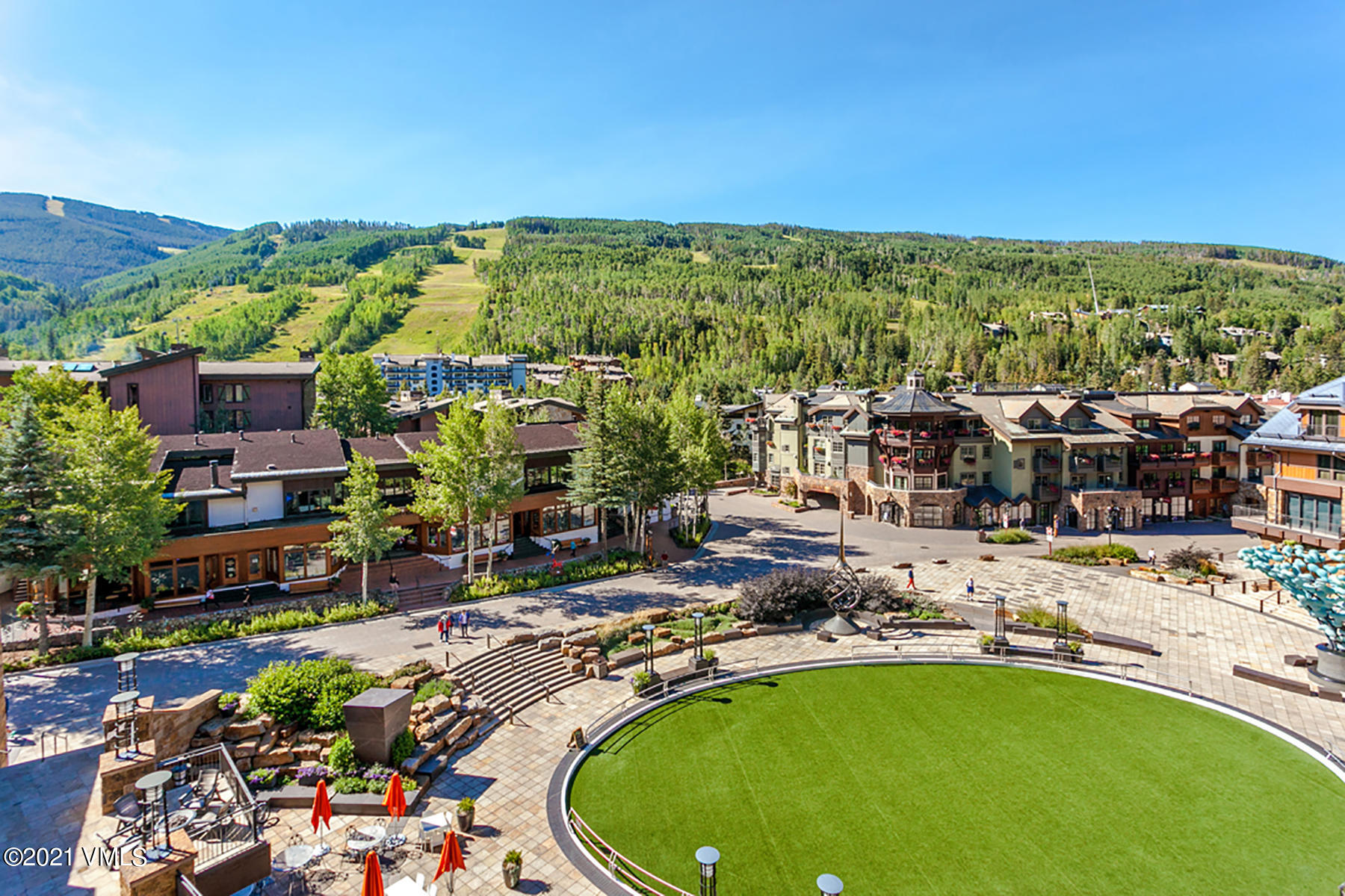 The Solaris Residences are one of the most luxurious, Full service Residential Style Mountain Resort Properties in the Country. Enjoy the Best of the Best, right in the Heart of Vail Village.  Residence #5C West is a generously sized 2-Bedroom + Den Residence with private outdoor patio. Onsite Amenities Include: Indoor Heated Pool, Fitness Center, World-Class Dining at Matsuhisa, Ice Skating Rink, Bowling Alley, Valet Service, Shuttle Service, Underground Heated Parking, Ski Valet and Storage at the Base of Vail Mountain, and 24-hour Concierge.