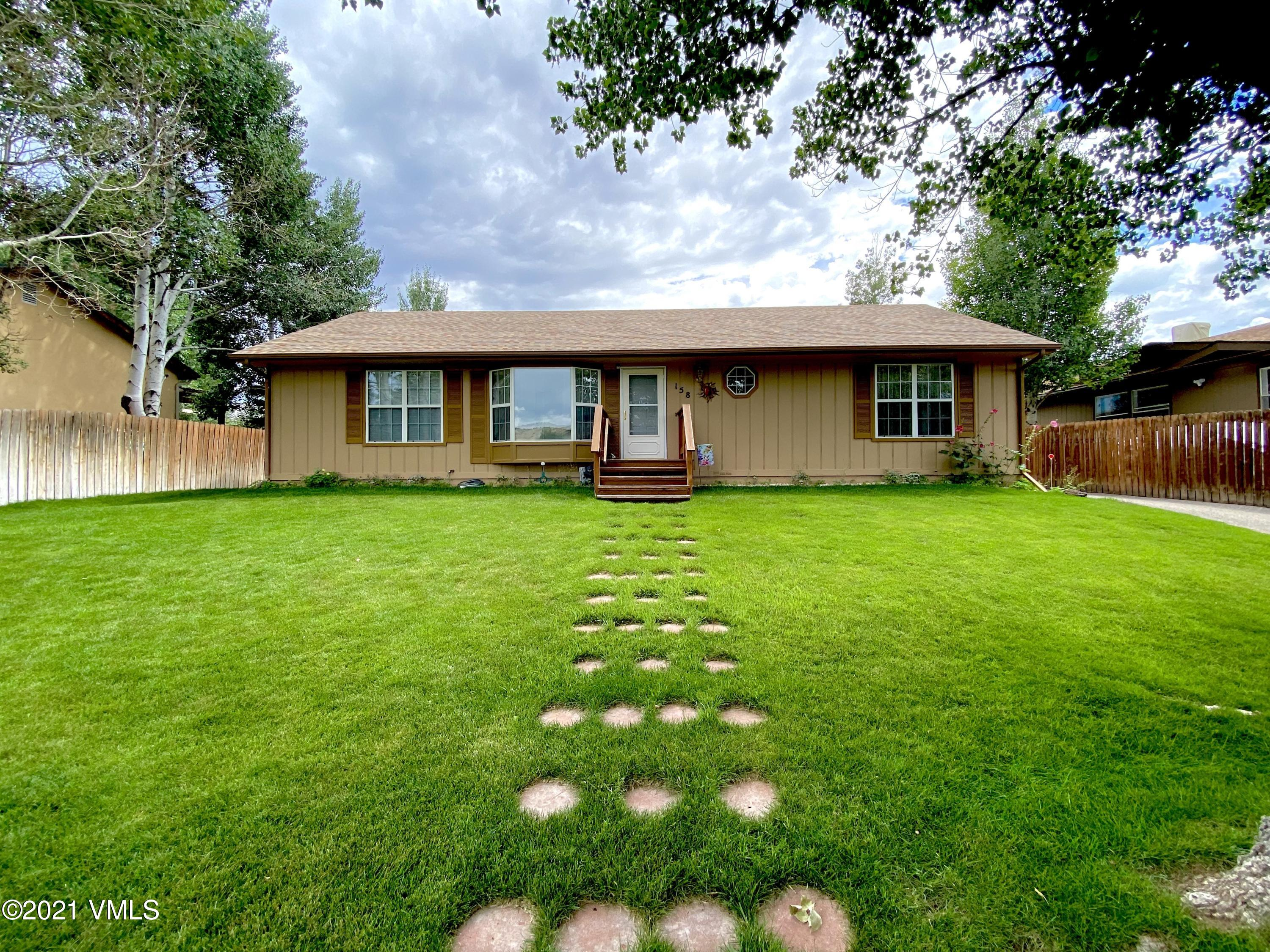 Immaculate single family home located in Gypsum. This 3 bed 2 bath home has a new roof, granite countertops, hardwood floors and a large front yard perfect for entertaining or enjoying the warm summer months. Priced to sell this home will not be on the market long.
