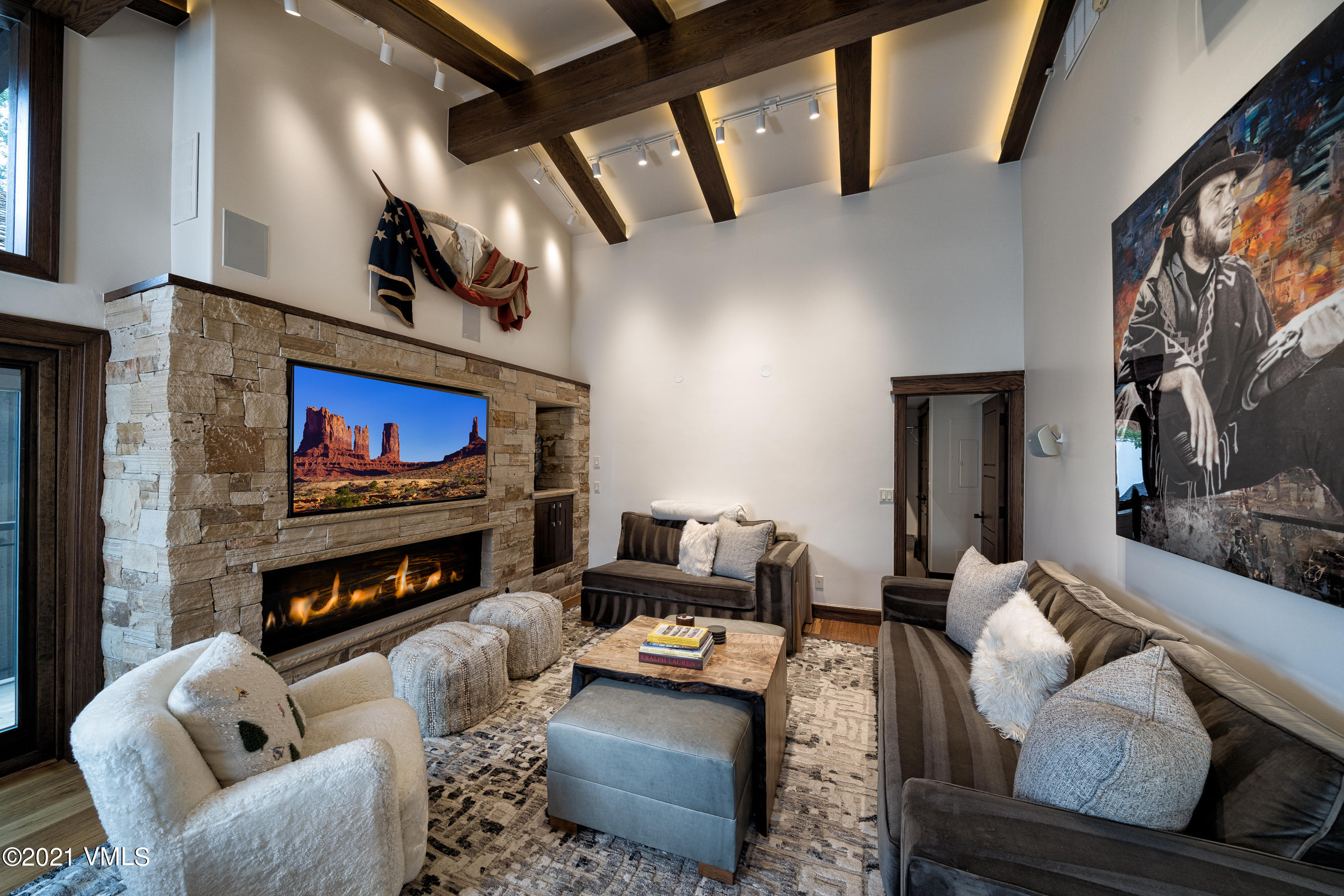 Recently remodeled and designer furnished condo is an iconic Wolf on Wall Street location in Vail Village!  This top floor, vaulted ceiling Penthouse has three bedrooms, two living rooms and two amazing decks overlooking Vail Village and Gondola One. Enjoy the vibrancy of the Village from the decks or escape to views, peace and quiet inside this Air Conditioned Penthouse. Motorized blinds, heated bathroom floors,Great Boardwalk location in the heart of the Village core! Invited Home forecasted short term rentals at $201,513.00 see in attachments.
