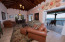 Living area with designer furnishings, all just a stone's throw from the beach