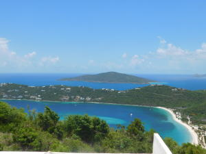 View from the pool deck - Magen's, Peterborg, Hans Lolick, BVi's.